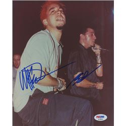 "Chester Bennington  Mike Shinoda Signed ""Linkin Park"" 8x10 Photo (PSA COA)"