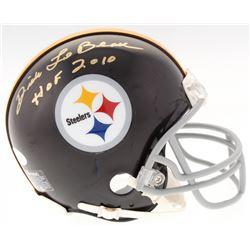 "Dick LeBeau Signed Steelers Mini-Helmet Inscribed ""HOF 2010"" (JSA COA)"