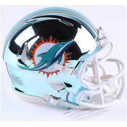 Ricky Williams Signed Miami Dolphins Chrome Mini Speed Helmet (JSA COA)