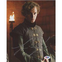 """Finn Jones Signed """"Game of Thrones"""" 8x10 Photo (PSA COA)"""