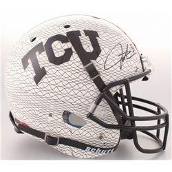 LaDainian Tomlinson Signed TCU Horned Frogs Full-Size AquaTech Helmet (Radtke COA  Tomlinson Hologra