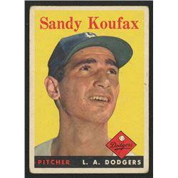 1958 Topps #187 Sandy Koufax
