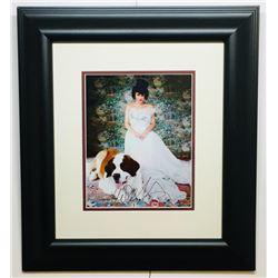 Norah Jones Signed 17x20 Custom Framed Photo Display (JSA COA)