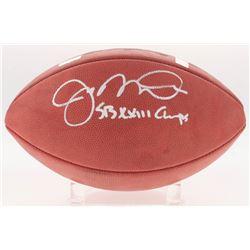 "Joe Montana Signed Super Bowl XXIII Official NFL Game Ball Inscribed ""SB XXIII Champs"" (Radkte COA"