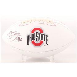 Marshon Lattimore Signed Ohio State Buckeyes Logo Football (Radtke COA)
