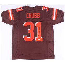 Nick Chubb Signed Browns Jersey (JSA COA)