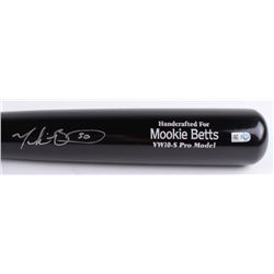 Mookie Betts Signed Marucci Player Model Baseball Bat (MLB Hologram  Fanatics Hologram)