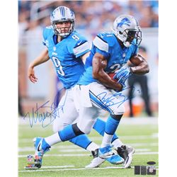 Matthew Stafford  Reggie Bush Signed Lions 16x20 Photo (TriStar, Stafford  Bush Hologram)