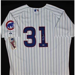 Greg Maddux Signed Cubs Jersey (MLB Hologram)