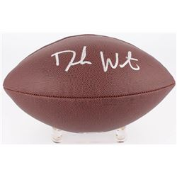 Deshaun Watson Signed NFL Football (Beckett COA  Watson Hologram)