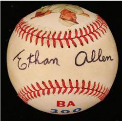 Ethan Allen Signed ONL Baseball (JSA COA)