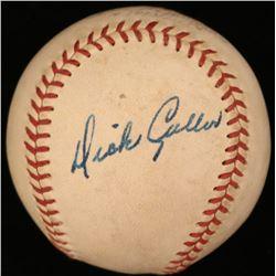 Dick Culler Signed Baseball (JSA COA)