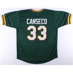 Jose Canseco Signed Athletics Jersey (JSA COA)