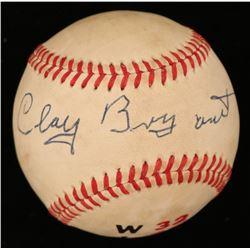 Clay Bryant Signed ONL Baseball (JSA COA)