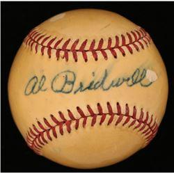 Al Bridwell Signed ONL Baseball (JSA COA)
