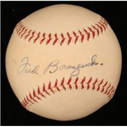 Fred Baczewski Signed ONL Baseball (JSA COA)