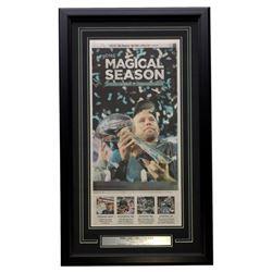 Nick Foles Philadelphia Eagles 18x30 Custom Framed Newspaper Page Display