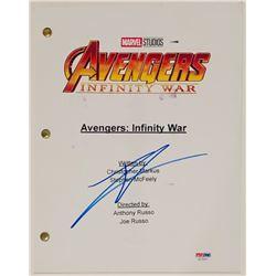 """Tom Holland Signed """"Avengers: Infinity War"""" Full Movie Script (PSA COA)"""