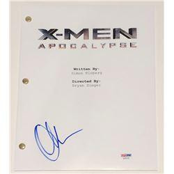"Olivia Munn Signed ""X-Men: Apocalypse"" Full Movie Script (PSA COA)"