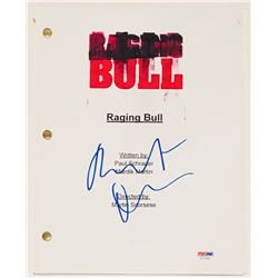 "Robert De Niro Signed ""Raging Bull"" Full Movie Script (PSA COA)"
