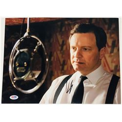 """Colin Firth Signed """"The King's Speech"""" 11x14 Photo (PSA COA)"""