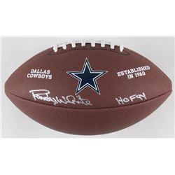 "Randy White Signed Dallas Cowboys Logo Football Inscribed ""HOF 94"" (Schwartz COA)"