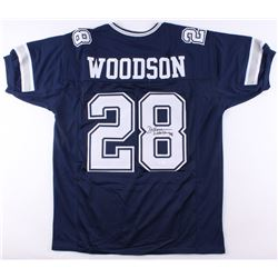 Darren Woodson Signed Cowboys Jersey (JSA COA)