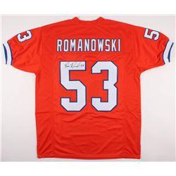 Bill Romanowski Signed Broncos Jersey (JSA COA)