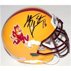 Jake Plummer Signed Arizona State Sun Devils Mini Helmet (Beckett COA)