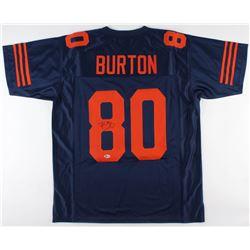 Trey Burton Signed Chicago Bears Jersey (Beckett COA)