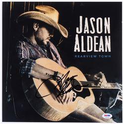 """Jason Aldean Signed """"Rearview Town"""" 12x12 Photo (PSA COA)"""