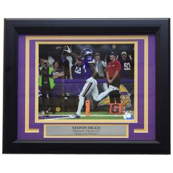 Stefon Diggs Minnesota Vikings 11x14 Custom Framed Photo Display
