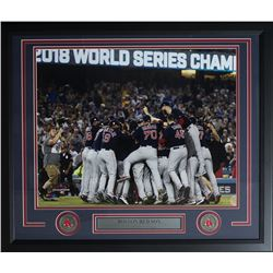 Boston Red Sox 2018 World Series 22x27 Custom Framed Photo Display