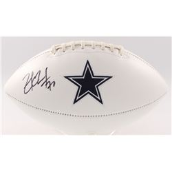 Zack Martin Signed Cowboys Logo Football (JSA COA)