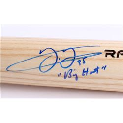 "Frank Thomas Signed Rawlings Pro Baseball Bat Inscribed ""Big Hurt"" (JSA COA)"