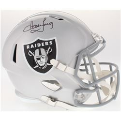 Howie Long Signed Raiders Full-Size Speed Helmet (JSA COA)