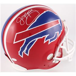 Jim Kelly Signed Bills Full-Size Authentic On-Field Helmet (JSA COA)