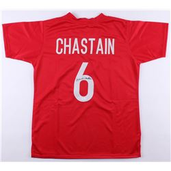 Brandi Chastain Signed Team USA Jersey (JSA Hologram)