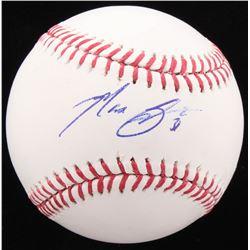 Max Scherzer Signed OML Baseball (PSA COA)