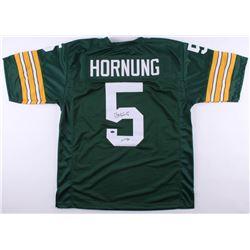 """Paul Hornung Signed Green Bay Packers Jersey Inscribed """"HOF 86"""" (Schwartz COA)"""