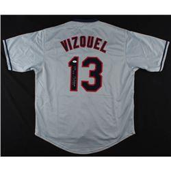 "Omar Vizquel Signed Cleveland Indians ""Little O"" Jersey Inscribed ""11X GG"" (JSA COA)"