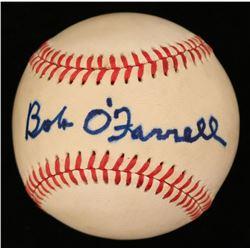 Bob O'Farrell Signed OAL Baseball (JSA COA)