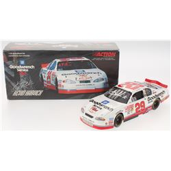 Kevin Harvick Signed NASCAR 2001 #29 GM Goodwrench Service Plus Monte Carlo - 1:24 Premium Action Di