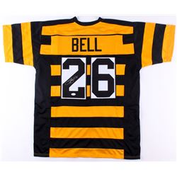 Le'Veon Bell Signed Pittsburgh Steelers Throwback Jersey (JSA COA)