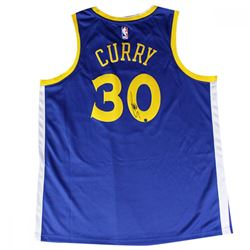Stephen Curry Signed Warriors Nike Jersey (Steiner COA)