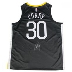 """Stephen Curry Signed Warriors """"The Town"""" Nike Jersey (Steiner COA)"""