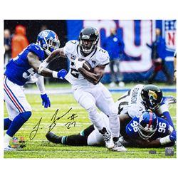 "Leonard Fournette Signed Jaguars ""Breaking Tackles"" 16x20 Limited Edition Photo (Panini COA)"