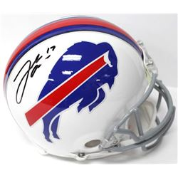 Josh Allen Signed Bills Full-Size Authentic On-Field Helmet (JSA COA)