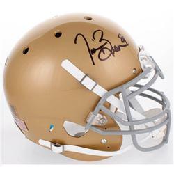 Tim Brown Signed Notre Dame Fighting Irish Full-Size Authentic On-Field Helmet (JSA COA)