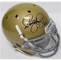 Jerome Bettis Signed Notre Dame Fighting Irish Full-Size Authentic On-Field Helmet (JSA COA)